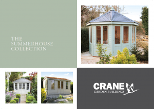 Front cover of Crane's new Summerhouse brochure - February 2019