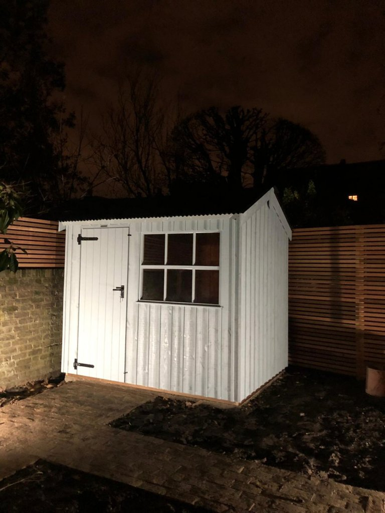National Trust Garden Shed in Grey