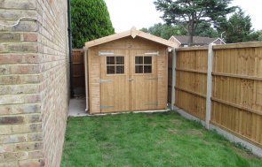 Superior Garden Shed with Double Doors