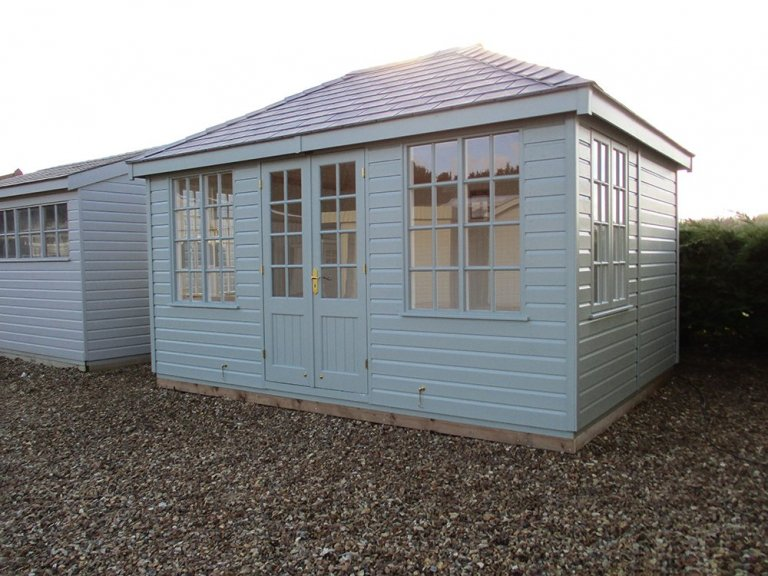 Cley Summerhouse Narford Display