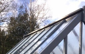 Cranleigh Greenhouse in Down Pipe