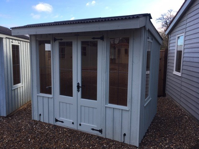NT Flatford Summerhouse Cranleigh Site Display