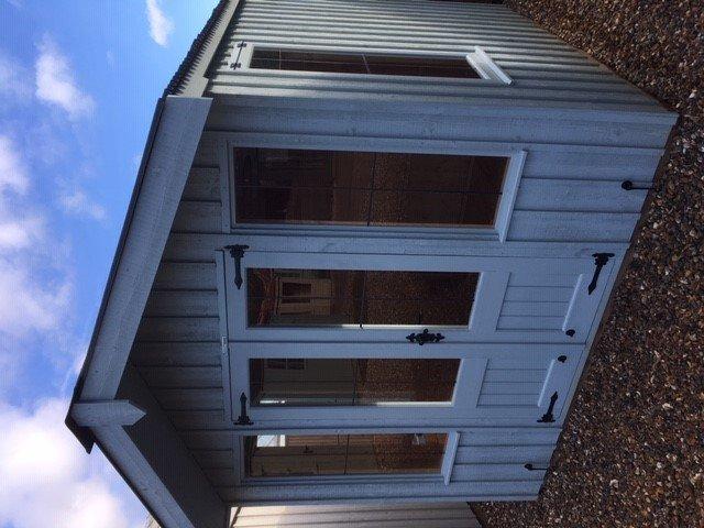 NT Ickworth Summerhouse Cranleigh Site Display