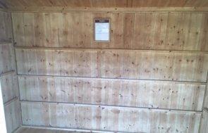 NT Lavenham Summerhouse Cranleigh Site Display