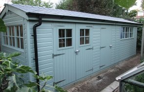Superior Shed with built-in Summerhouse