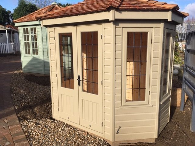 Wiveton Summerhouse Taupe Cranleigh