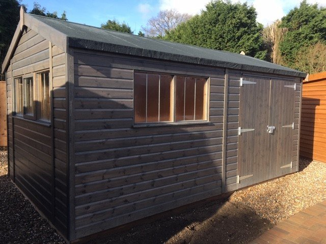 Superior Shed at Cranleigh Showsite