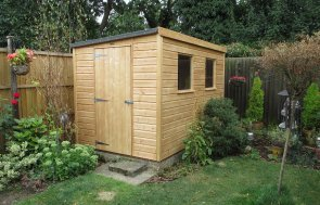 Classic Shed with Pent Sloping Roof