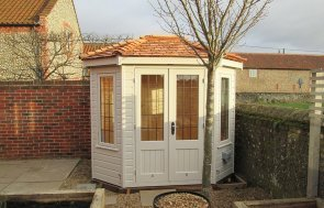 Wiveton Octagonal Summerhouse with Electrics