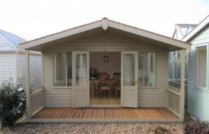 Brighton Morston Summerhouse Display Building