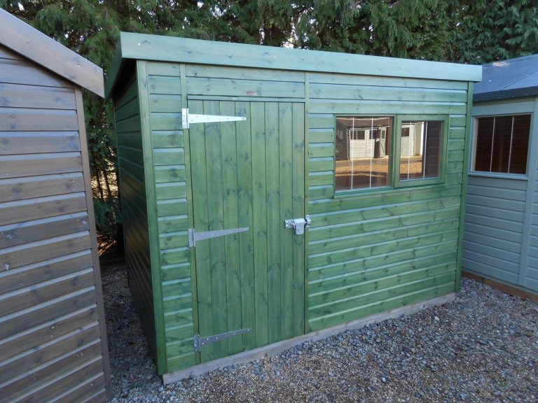 Burford Superior Shed Site Display