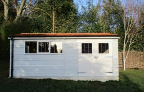 Large Garden Shed Double Doors