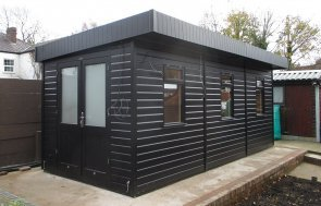 Garden Office with Electrics