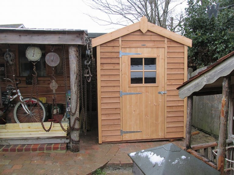 Attractive Superior Shed with Georgian Window