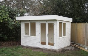 Garden Office with Pent Roof