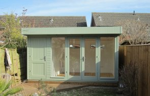 Salthouse Studio with Storage and Shiplap