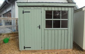National Trust Oxburgh Shed 1.8 x 2.4