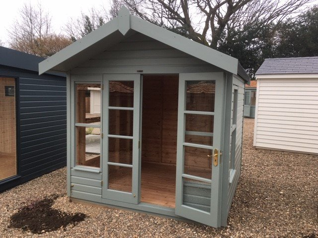 Blakeney Summerhouse Site Display Building