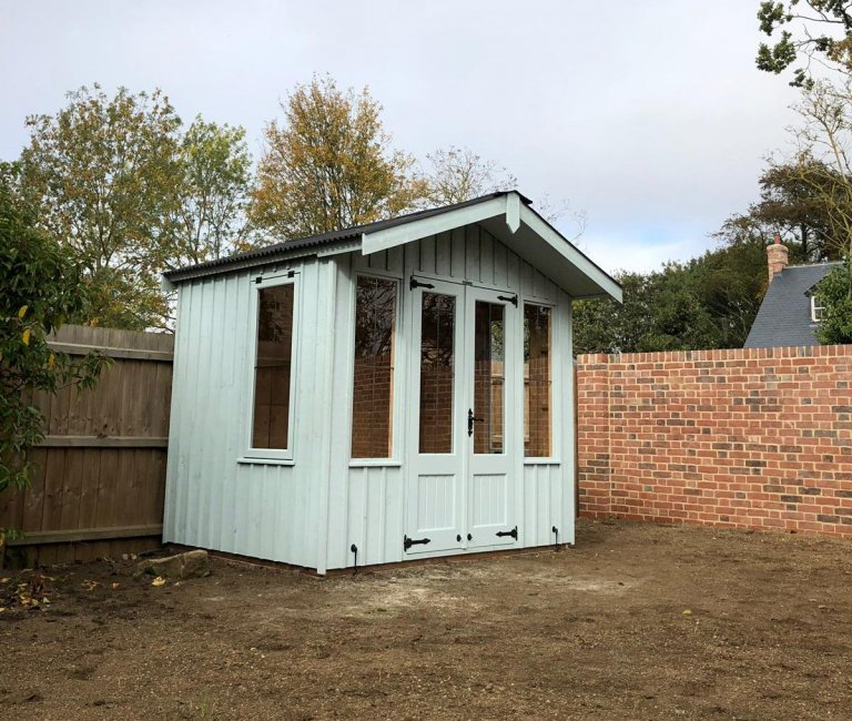 National Trust Summerhouse with Rustic Cladding