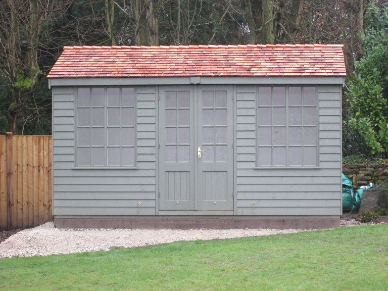 Holkham Summerhouse with Rustic Timber Cladding