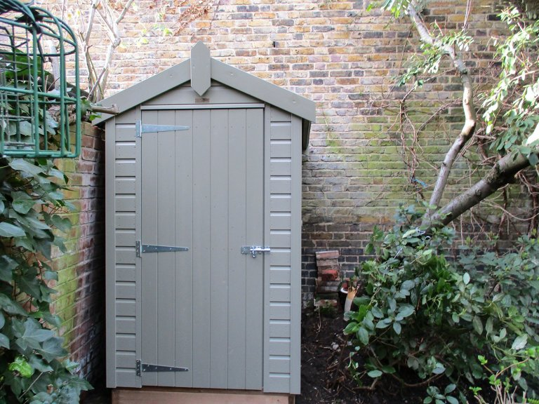 Small Timber Garden Shed