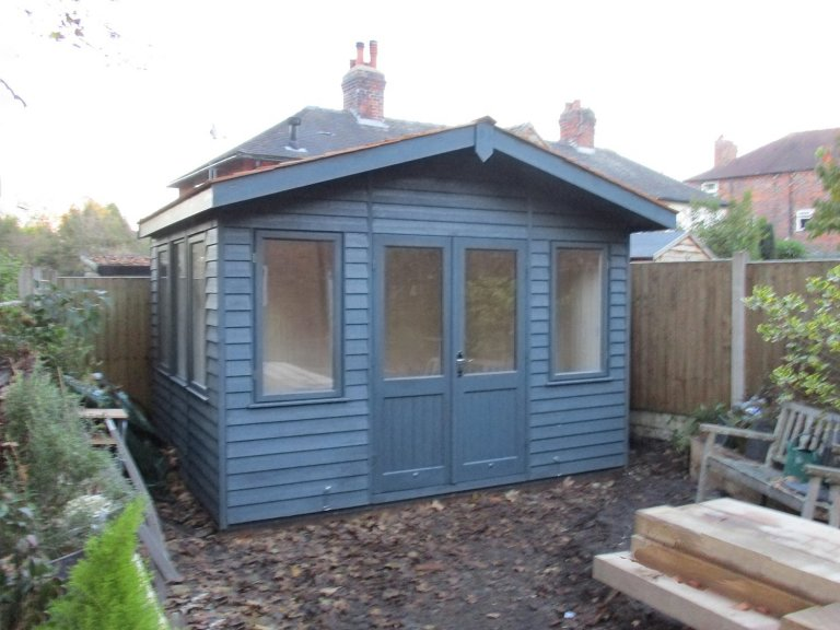 Garden Studio Office with Electrics