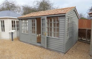 Burford Display Building Holkham Ash