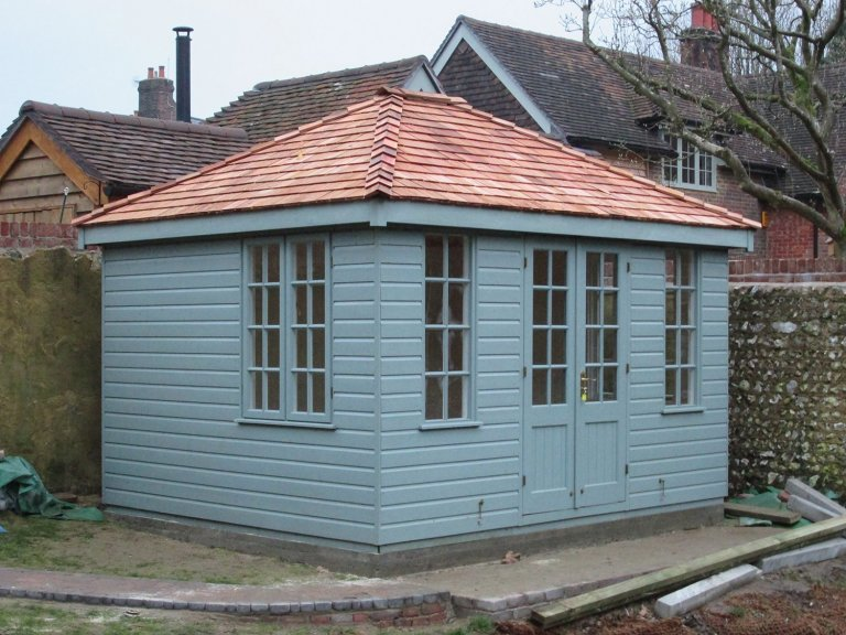 Cley Summerhouse with Cedar Roof