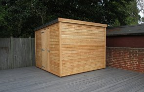 Pent Garden Shed Without Windows