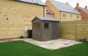 Garden Shed with Joinery Door