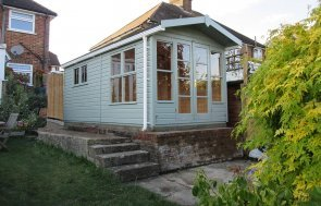 Hybrid Summerhouse and Shed Timber Building