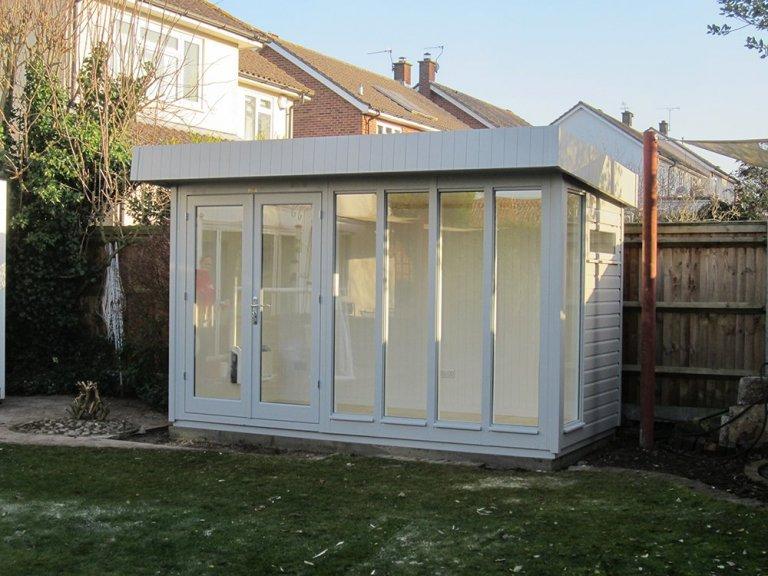 Garden Studio in Pebble Paint