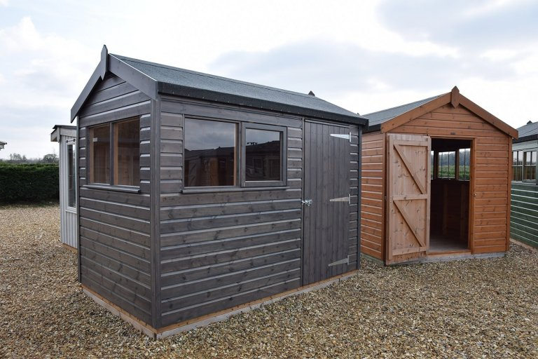 Superior Shed Narford Sikkens Grey