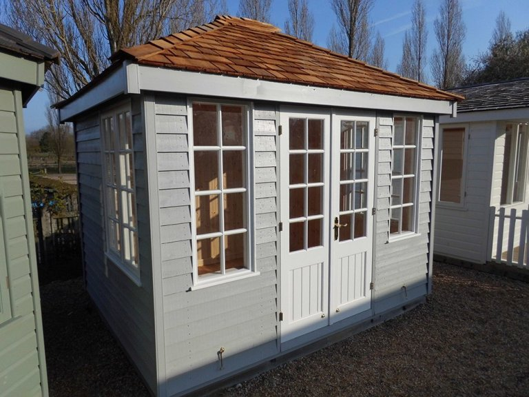 Burford Summerhouse Cley Pebble