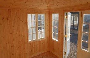 Burford Summerhouse Cley Pebble