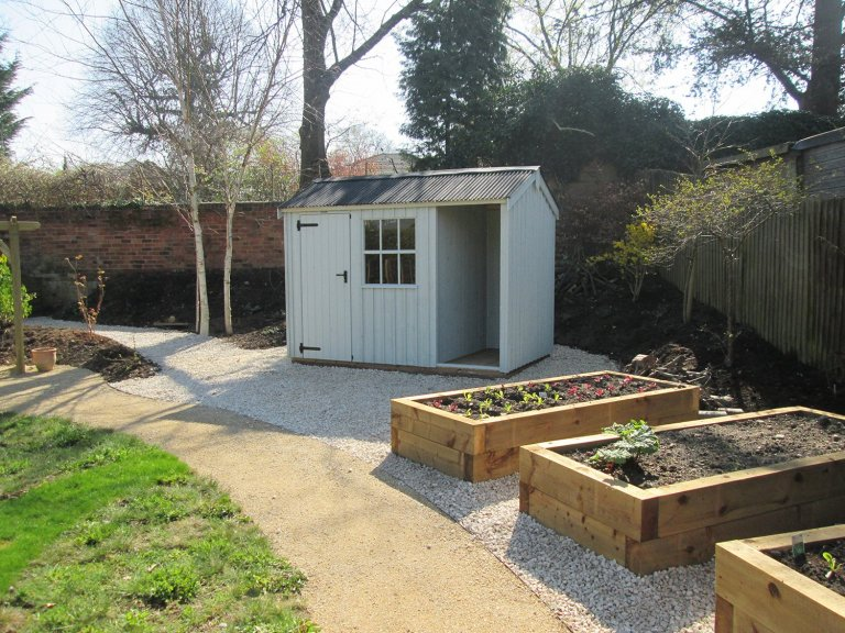 National Trust Timber Garden Shed