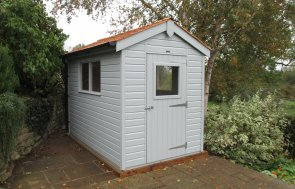Small Garden Shed with Windows
