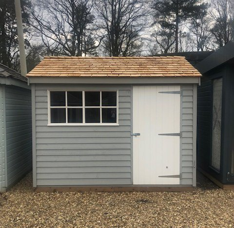 Superior Shed in Pebble Sunningdale