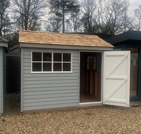 10 X 16 Superior Shed With Pent Roof Plan Ref 7845