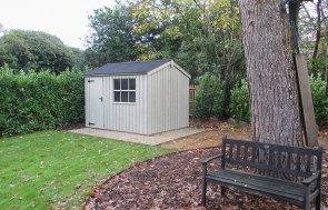 Felbrigg National Trust Garden Timber Shed