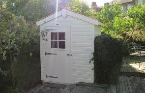 Attractive Garden Shed in Sandstone