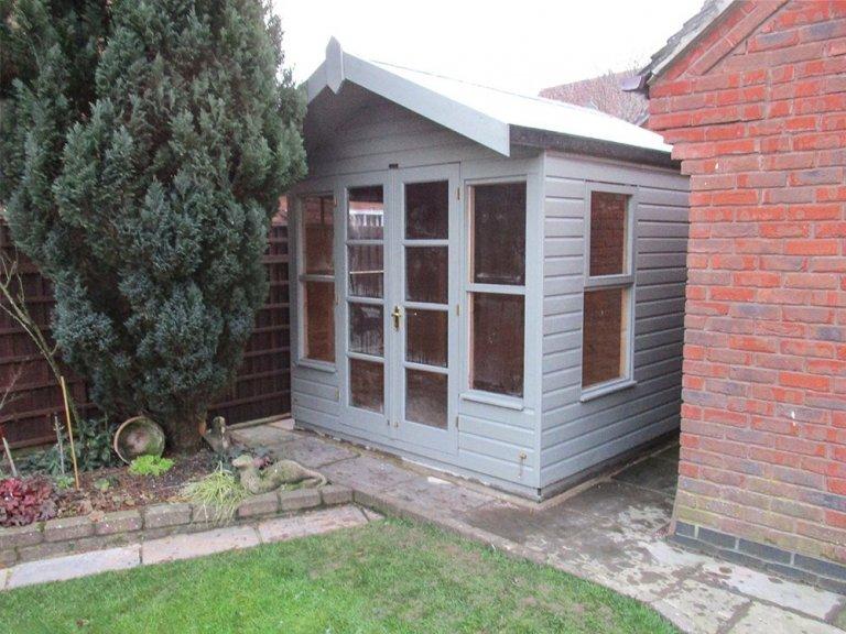 Blakeney Summerhouse with Ash Paint