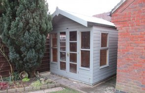 Blakeney Summerhouse with Ash Paint