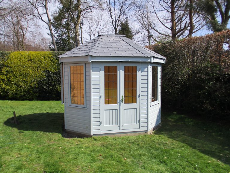 Small Timber Octagonal Summerhouse