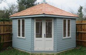 Luxury Timber Corner Summerhouse