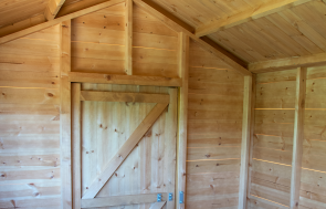 Superior Shed in Teak HQ