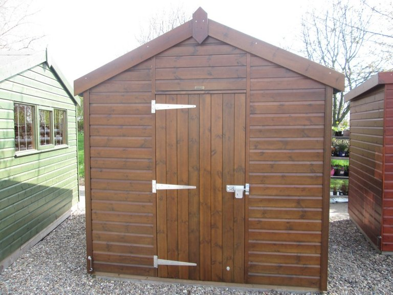 Nottingham Superior Shed Walnut