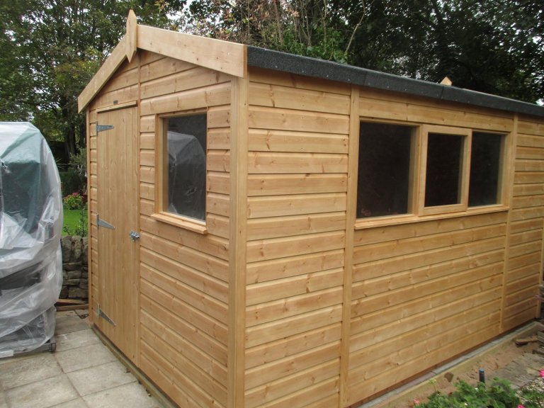 High Quality Timber Garden Shed