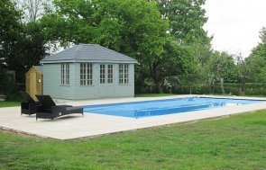 Pool House with Electrics