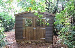 Walnut Garden Shed Workshop